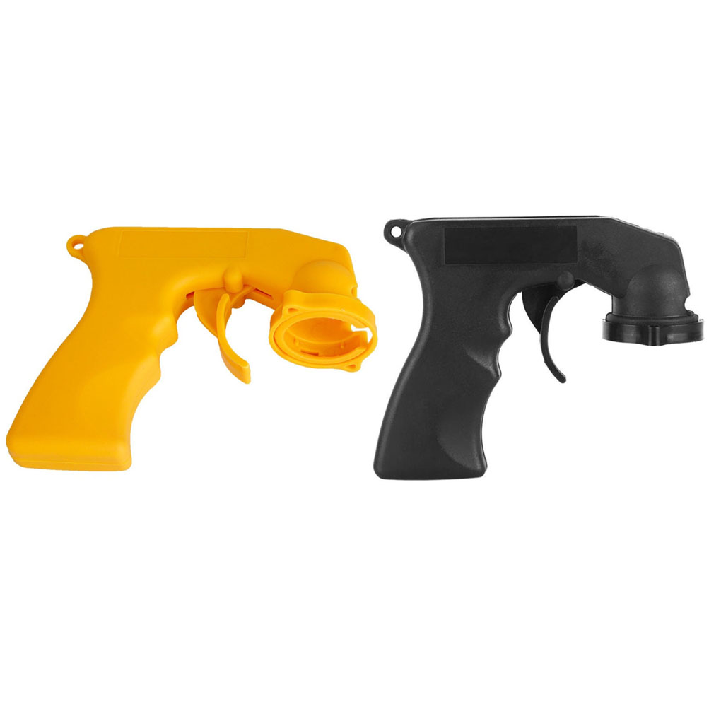 Spray Adaptor Paint Care Aerosol Spray Gun Handle With Full Grip Trigger Locking Collar Car Maintenance