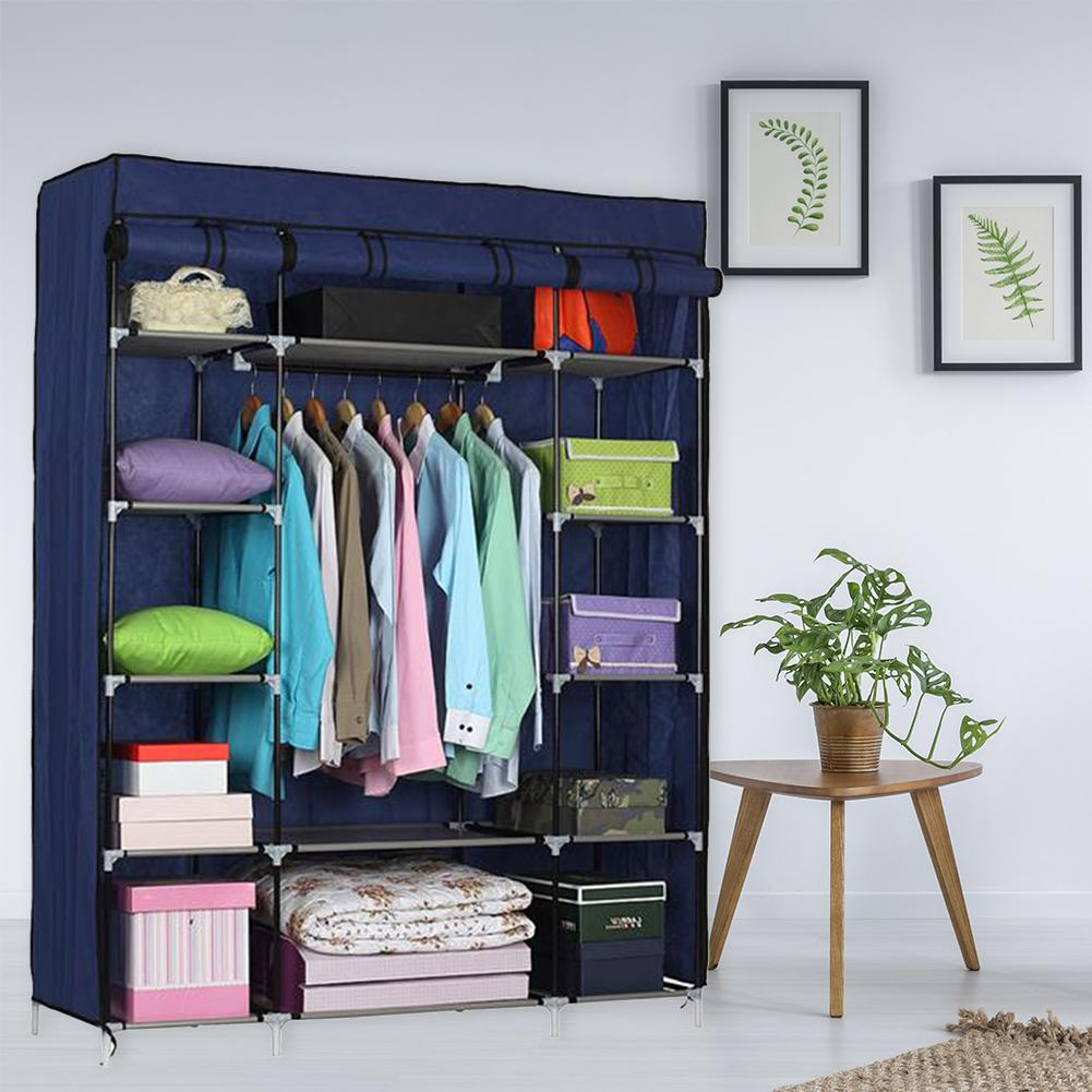 5 Layer 12 Compartments Non-Woven Portable Home Organizer Wardrobe Clothing Bra Underwear Storage Box Scarf Sock Container Box