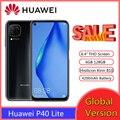 Huawei P40 Lite смартфон 6 ГБ 128 48MP 6,4 ''FHD экран Kirin 810 Octa Core телефон смартфоны PK xiaomi redmi note 9