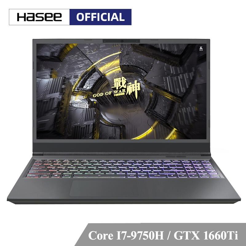 "Ноутбук Hasee Z7 CT7VH для игр (Intel I7 9750H + GTX1660Ti/8 ГБ ОЗУ/256 ГБ SSD + 1T HDD/15,6 ""IPS) Hasee Notbook для плеера ноутбук|Ноутбуки|   | АлиЭкспресс"