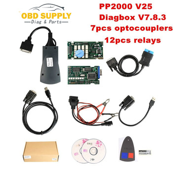 Full Chip Cost-Effective Lexia-3 Lexia3 V48 PP2000 V25 Diagnostic Tool for Peugeot/Citroen With Diagbox V7.8.3 Lexia 3
