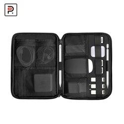 Boîte de rangement électronique Portable, petite pochette, sac étanche pour accessoires 3C, sacs de rangement pour câbles chargeur batterie ipad