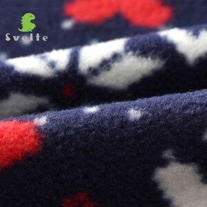 Image 4 - 2 9 yファッションキッズボーイズためしなやか裏地毛皮の厚さのフリース暖かい秋冬jakcetレトロコート上着子供服