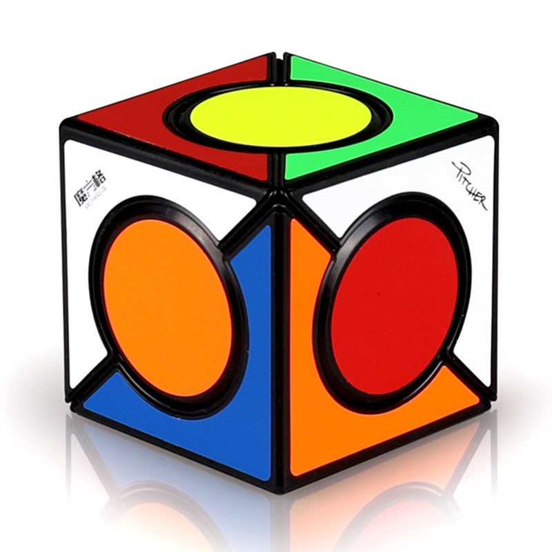 New QiYi Six Spot Speed Magic Cube Professional Cubo Magico Puzzle Cubes Educational Toys For Children Game Gift