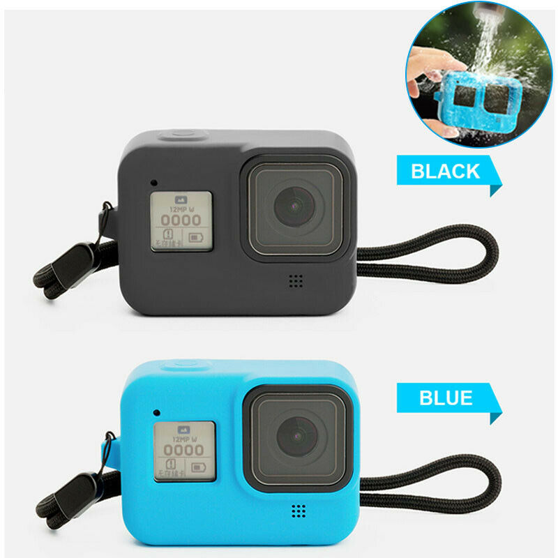 New Fashion Shockproof Camera Frame Protective Cover For GoPro 8 Accessories Silicone Case