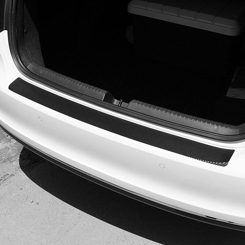 Image 2 - Universal Car Trunk Rear Guard Plate Sticker for Lada Granta Xray Vesta For Kia Rio Solaris Creta For Golf Polo-in Car Tax Disc Holders from Automobiles & Motorcycles