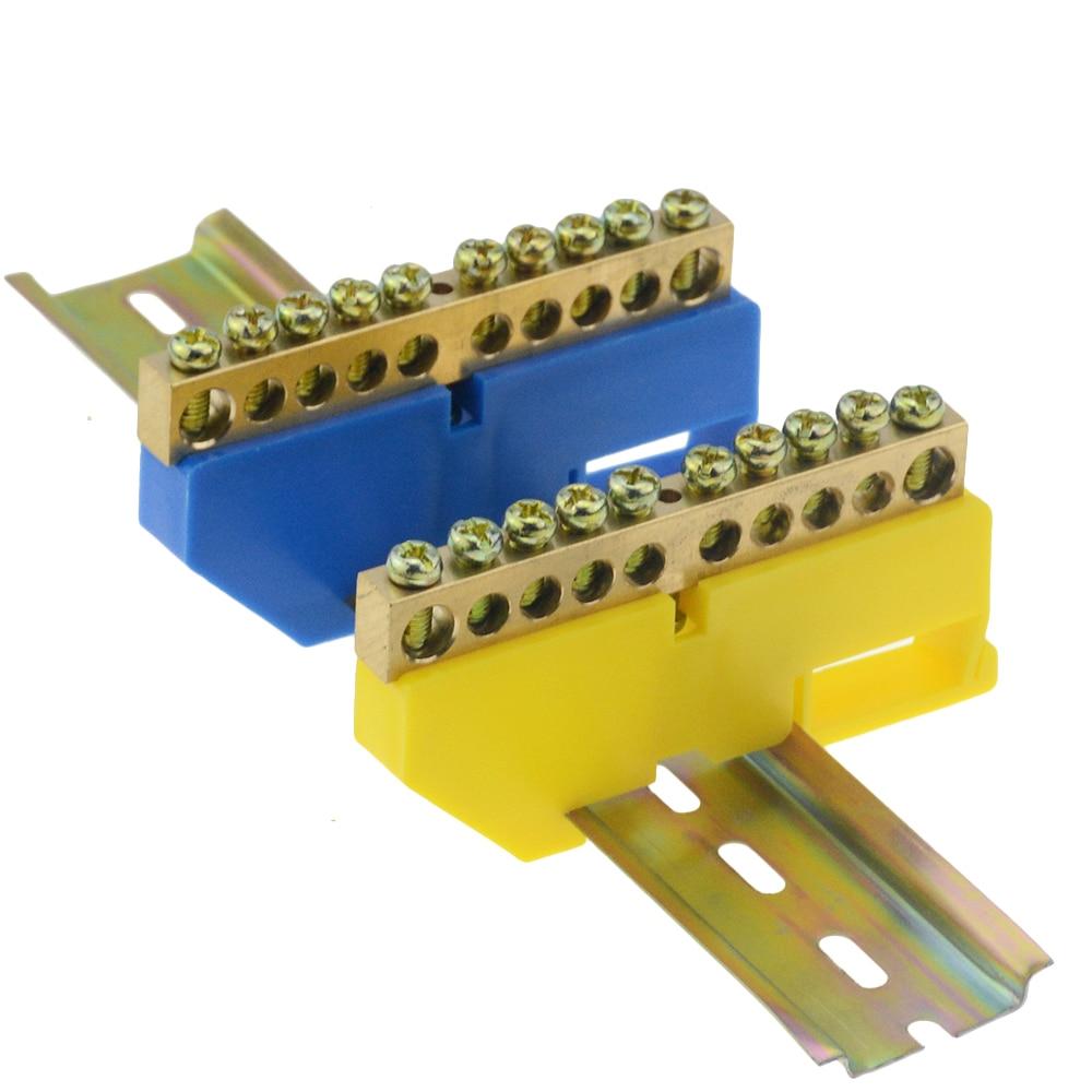 1 шт. распределительная коробка клеммный блок огнестойкий пластиковый провод дуговой клеммный блок клеммный разъем 6 8 10 12 отверстие