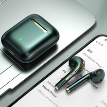 Tws fones de ouvido sem fio bluetooth 5.0 impressão digital fone em esportes fones com microfone caixa carregamento para iphone xiaomi