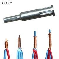 Máquina de dobra de descascamento automática mágica do fio da torção do eletricista 2 hole 5 furos conector rápido ferramenta doméstica auxiliar elétrica tool| |   -