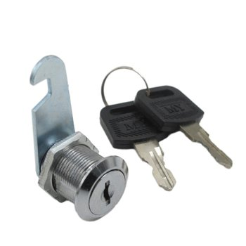 16/20/25/30mm 2 Keys Safe Cam Lock Office Door Cabinet Locker Letter Box Drawer Cupboard Wardrobe Safety Lock image