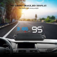 C500 OBD2 Head up Car Projector Car Styling Reader Speed Self-adaptive Car Fuel etc Parameter Display Alarm System DFDF