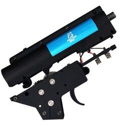 XPOWER 3,0 S FightingBro caja de cambios de Gel dividida ver2 Actualización de nailon BD556 Maopul TTM SLR LDT416 receptor