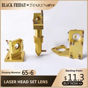 Image 1 - Startnow CO2 Laser Bộ Căn Cứ Thành Phần Đầu Laser Bộ Ống Kính Tráng Gương Đèn Gắn Cho CNC 2030 Khắc Máy Dự Phòng một Phần