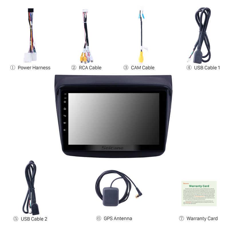 Seicane 9 Inch Android 8.1 2din Auto Gps Head Unit Speler Stereo Voor Mitsubishi Pajero Sport/L200/2006 + Triton/2008 + Pajero 2010