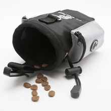 Outdoor Dog Training Treat Bags Fashion Pet Feed Pouch Snack Reward Waist Pocket Perfect For Walking Running(China)