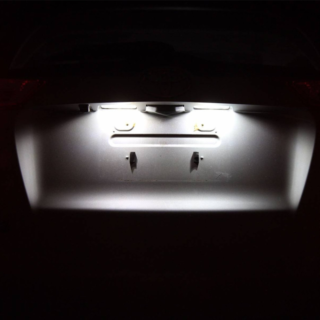 6x Canbus Error Free Interior LED Bulb Map Dome Roof Light Kit For Nissan Leaf ZE0 2011-2017 Accessories Car Lamp styling 3