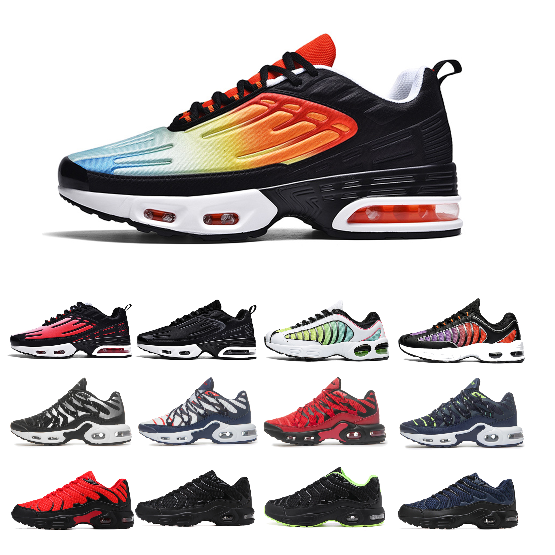 Women Sneakers Walking-Shoes Air-Cushion Tn Plus Professional Breathable Mesh Autumn