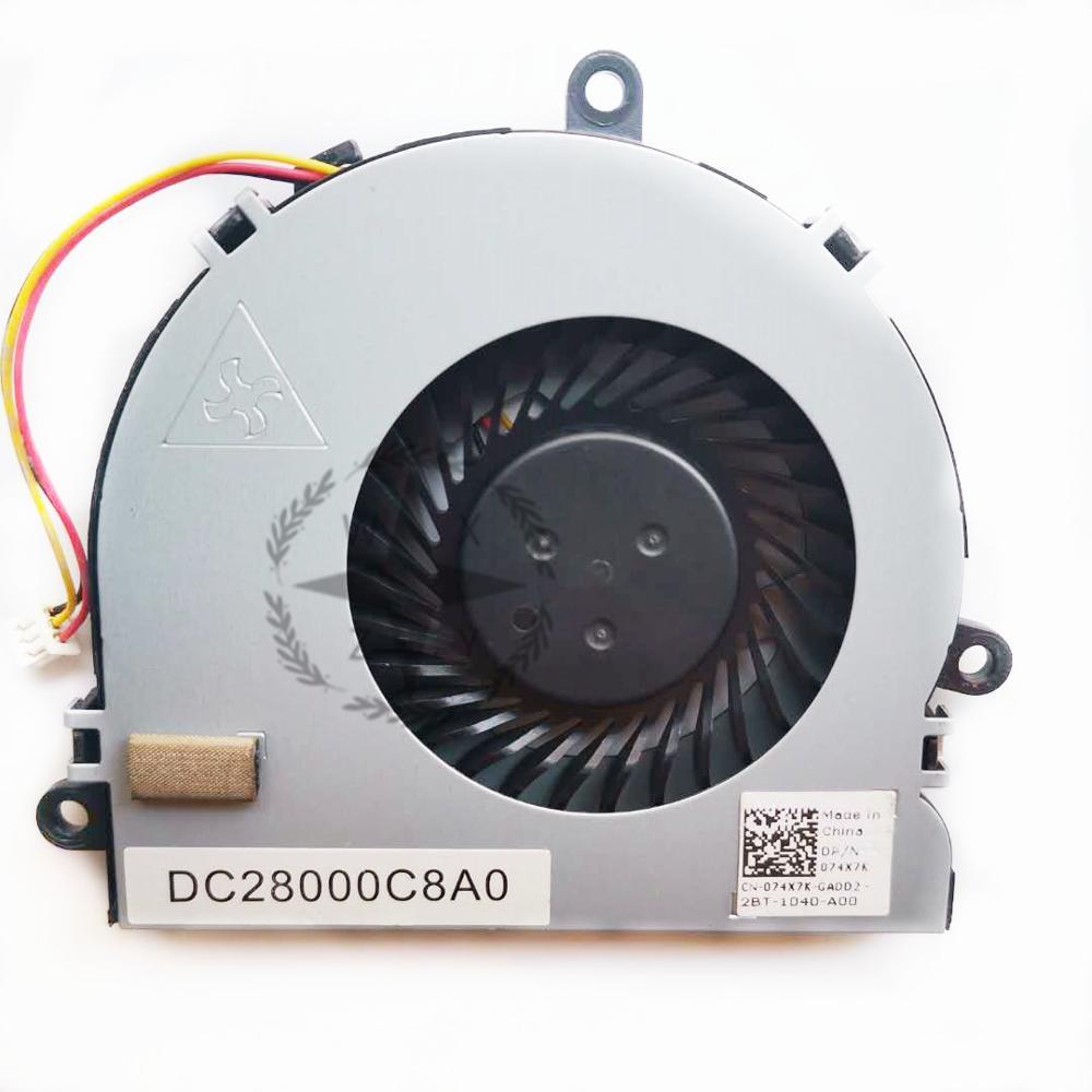 СОП новый оригинальный кулер для ноутбуков Dell Inspiron 17 3721 3521 радиатор с вентилятором CN-074X7K 074X7K 74X7K CN-07H5H9 07H5H9