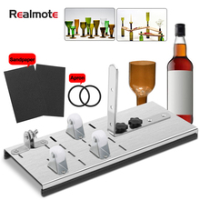 Realmote Stainless Steel Glass Bottles Cutting Organ The Wine Bottle tile Cutting Diy Cut The Beer Bottle Tool