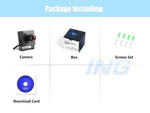 Image 5 - H.265 POE Fisheye HD 1920x1080 P 2.0MP אבטחת מיני סוג מקורה IP מצלמה מתכת מצלמה ONVIF P2P IP טלוויזיה במעגל סגור מצלמת מערכת