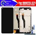 6,4 дюймовый ЖК-дисплей OUKITEL C21 + кодирующий преобразователь сенсорного экрана в сборе 100% Оригинальный Новый ЖК + сенсорный дигитайзер для C21 + ...