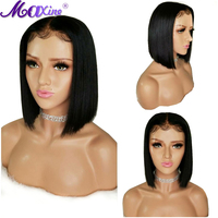 Short Bob Wig for Black Women Maxine Remy Straight Hair Wig 13x4 Lace Front Human Hair Wigs Pre Plucked Lace Wig Baby Hair
