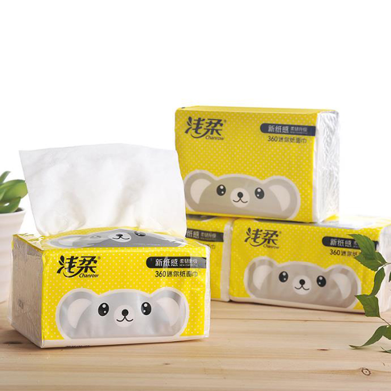360Sheets/Pack Household Facial Tissue Paper Dry Napkin Towels Sanitary Paper