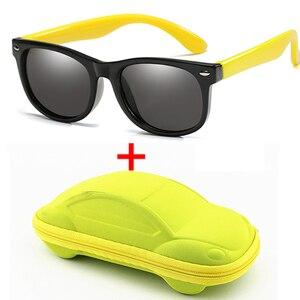 WarBlade Children Polarized Sunglasses Boys Girl Baby Silicone Safety Kids Sun Glasses 100% UV400 Eyewear Child Oculos with Case(China)