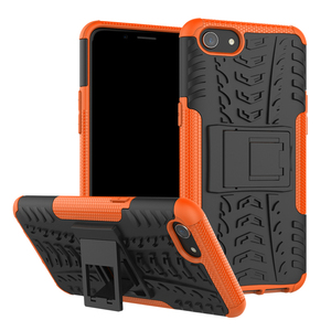 shockproof Armor Hard Rubber Phone Case for OPPO F5 F3 A83 A1 F7 A5 A3S Realme A1K C2 3 2 F9 F11 R9S Pro Plus Protective Case(China)