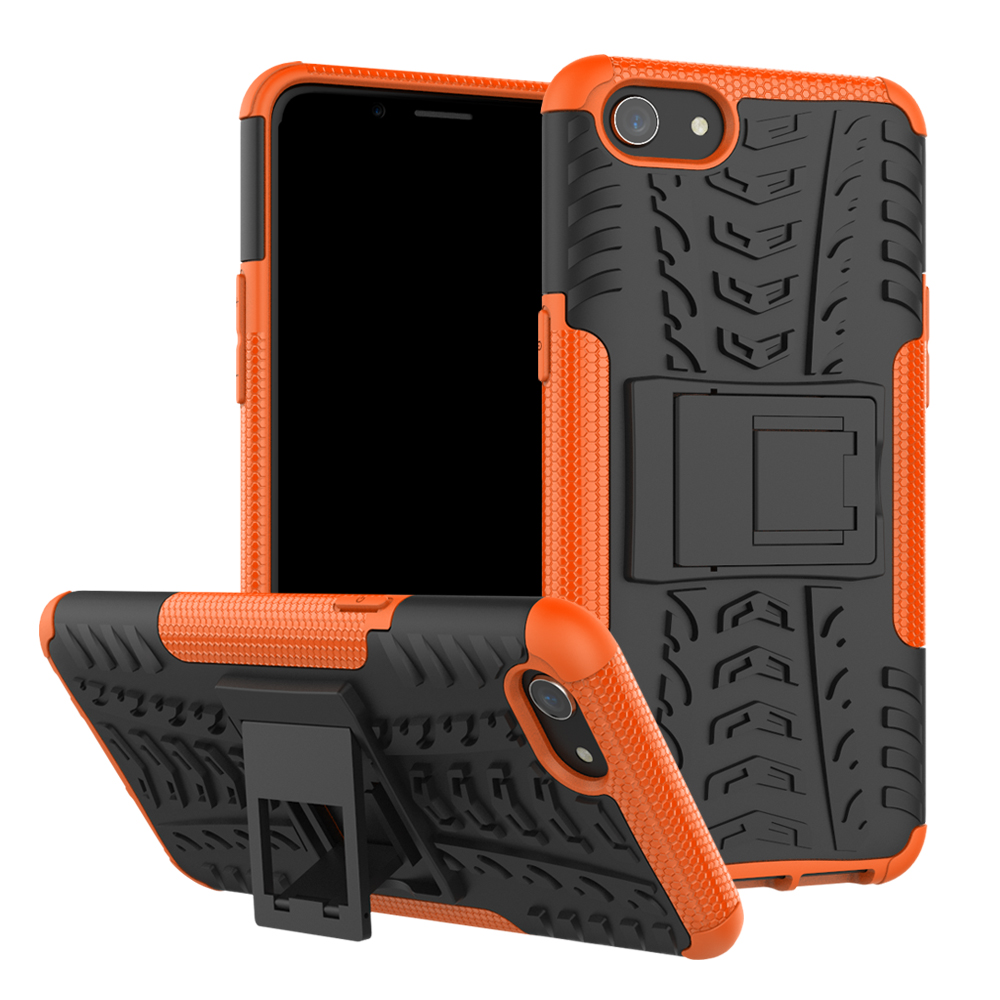 shockproof Armor Hard Rubber <font><b>Phone</b></font> <font><b>Case</b></font> for <font><b>OPPO</b></font> F5 F3 A83 A1 F7 A5 A3S Realme A1K C2 3 2 <font><b>F9</b></font> F11 R9S Pro Plus Protective <font><b>Case</b></font> image
