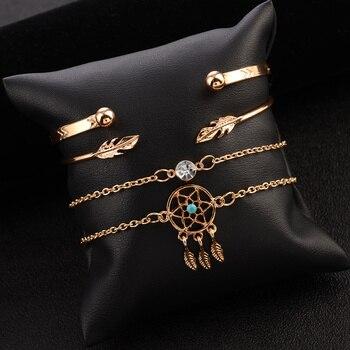 Bracelet attrape rêve en étoile 2