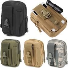 Tactical Universal Holster Military Molle Hip Waist Belt Bag fanny pack Wallet Pouch Purse Zipper phone bag Men waterproof bags