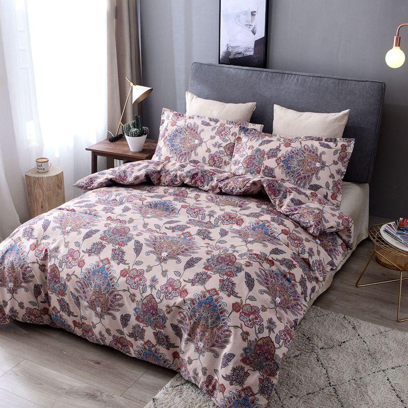 Богемный Восточный Мандала постельные принадлежности одеяло пододеяльник набор 3 шт постельных принадлежностей