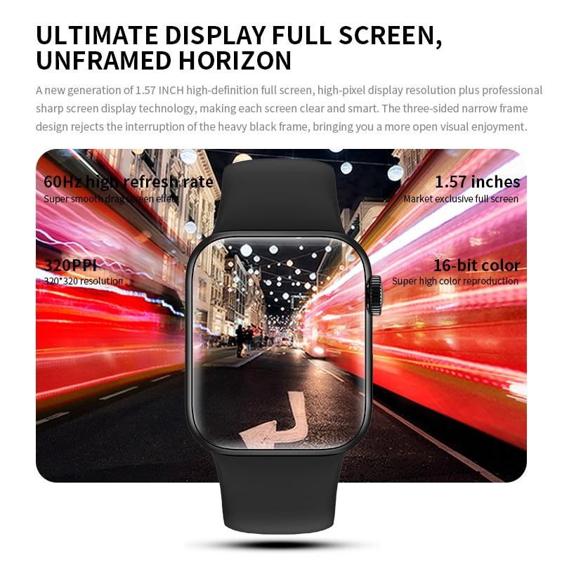 IWO HW12 HW16 Smart Watch 2020 44MM 40MM Women Men Smartwatch with Password Split Full Screen Bluetooth PK IWO 12 Pro FK88 2