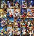 5D DIY Diamond Painting Religious Mother and Child Diamond Cross Stitch Diamond Art Mosaic Home Decoration Gift
