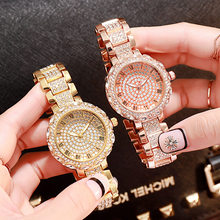 Gypsophila Diamond Design Women Watches Fashion Silver Round Dial Stainless Steel Band Quartz Wrist Watch Gifts free shipping(China)
