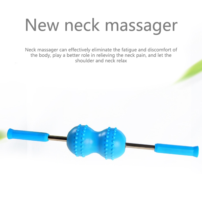 Multifuncional corpo muscular yoga massagem rolo vara