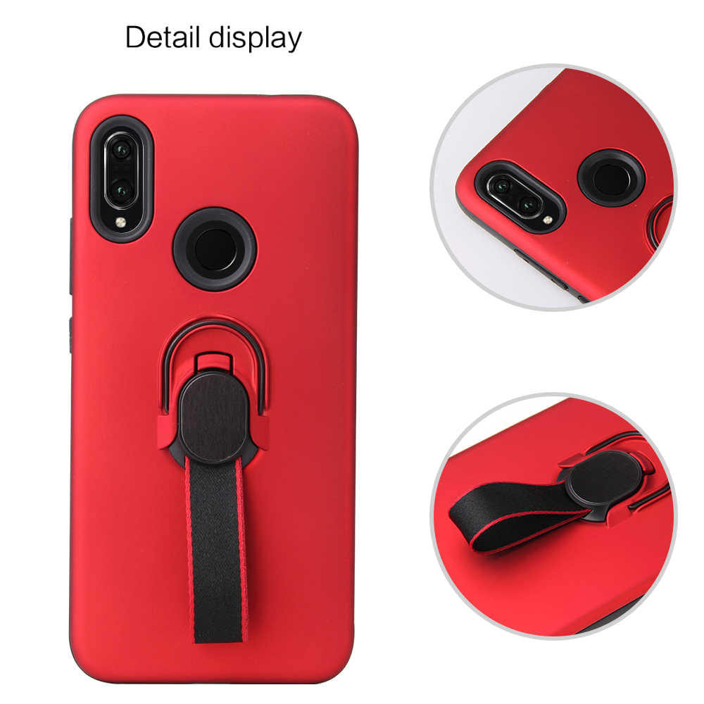 Invisible Bracket Phone Case For Huawei Y6 Y9 Prime Pro 2018 Y6 Prime Pro Y7 Pro Y5 Y9 2019 P Smart Plus TPU Soft Back Cover