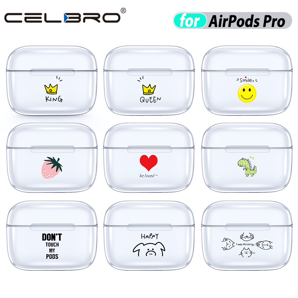 Clear Funny Case for Airpods Pro 7