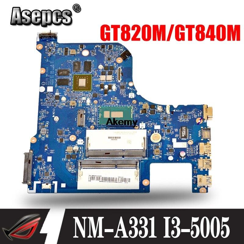 G70-80 Motherboard Para Lenovo G70-70 B70-80 Z70-80 Motherboard AILG NM-A331 I3-5005U Com GT840M/GT820M Teste 100% Original