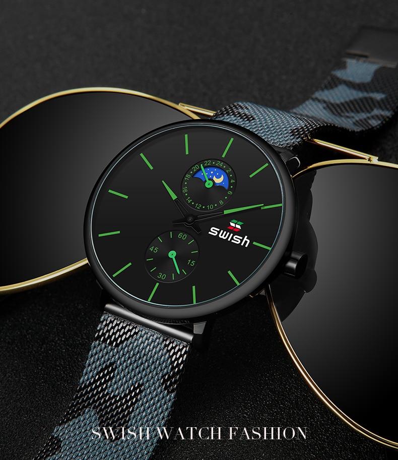 H28907b4cdf3d4aed8ebb3c9cf07a986ez SWISH Watches Men 2019 Mens Watches