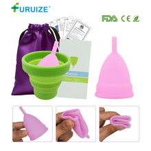 Feminine Hygiene Copa Menstrual Sterilizing Cup Flexible to Clean Reusable 1pcs Sterilizer with Lady
