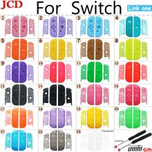 JCD For Nintend for Switch NS for Joy Con Replacement Housing Shell Cover for NX for JoyCons Controller Case Green Pink black