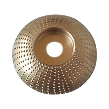 Woodworking Grinding Wheel Rotary Disc Sanding Engraving Shaping Wood Carving Tool for Angle Grinder