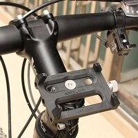 GUB G-83 supporto per telefono cellulare per bicicletta supporto per manubrio per cellulare antiscivolo supporto universale per telefono cellulare