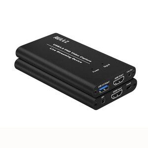 Image 3 - USB3.0 HDMI 4K 1080P 60FPS karta przechwytywania wideo nagrywarka do gier USB 3.0 PC transmisja strumieniowa na żywo transmisja MIC opcja