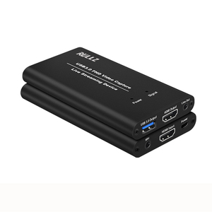 Image 3 - USB3.0 HDMI 4K 1080P 60FPS וידאו לכידת כרטיס משחק הקלטת מקליט תיבת USB 3.0 PC הזרמת זרם חי שידור מיקרופון אפשרות