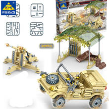 449Pcs Military ARMY Air Defense Antiaircraft Gun Soldiers Building Blocks Sets Creator Toys for Children legoinglys yamala imperial redcoat army soldier gun collectible building blocks children gift toys compatible with legoingly army soldiers
