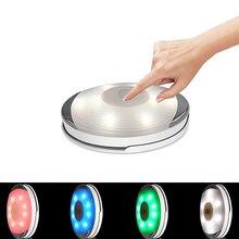 Светодиодный светильник для шкафа s красочный сенсорный индукционный