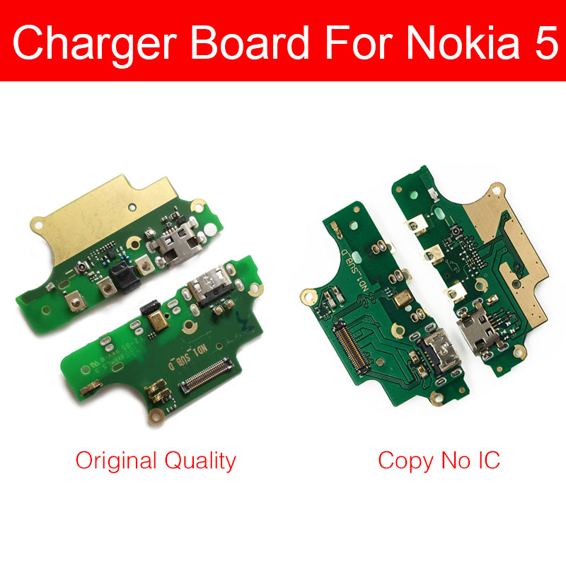 Microphone&Usb Charger Board For Nokia 5 N5 TA-1053 TA-1021 TA-1024 USB Charging Port Dock Plug Jack Connector Flex Cable Parts